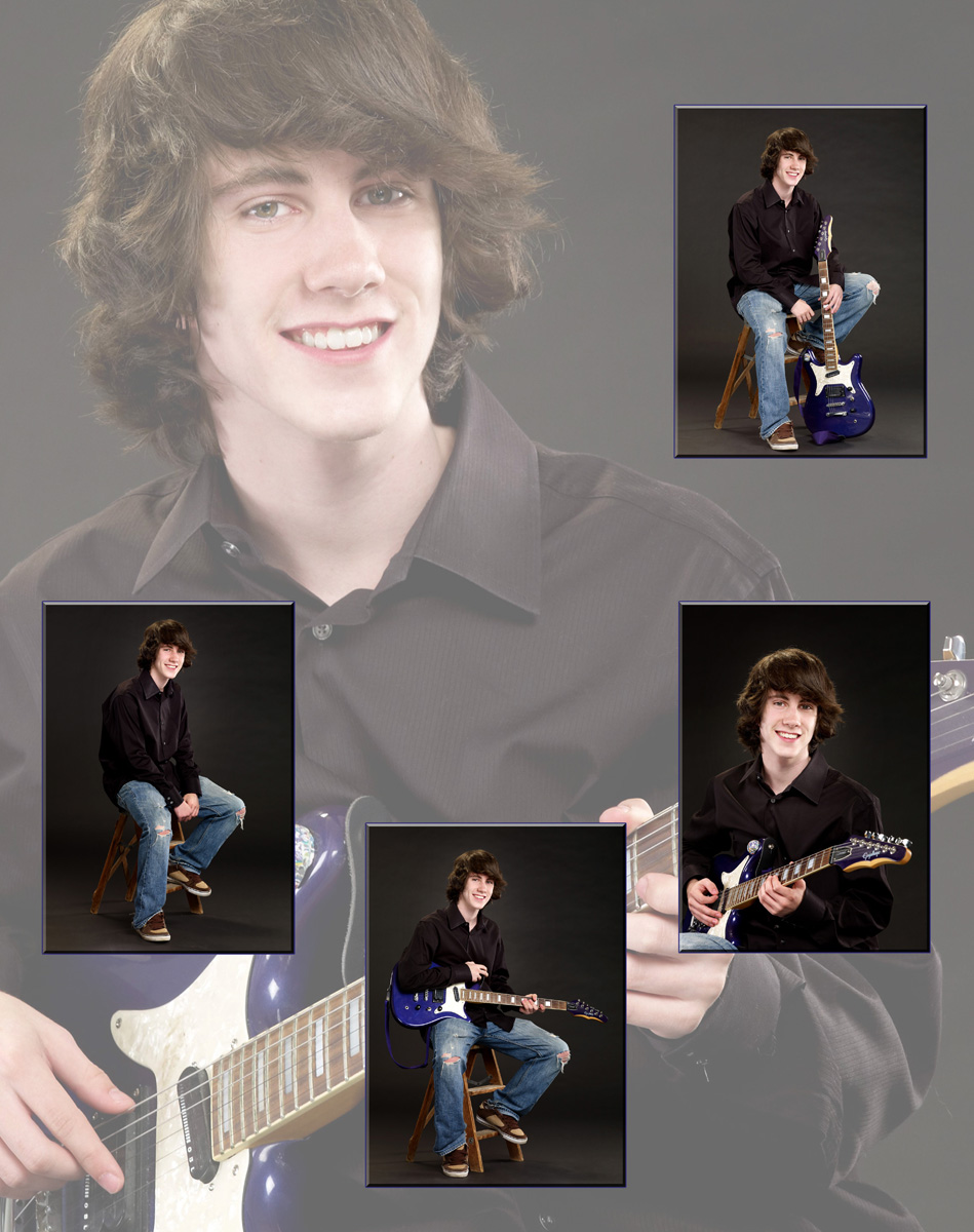 Composite Photo with Guitar
