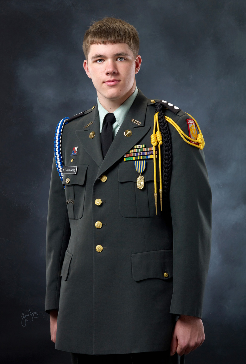 HS Senior in Uniform
