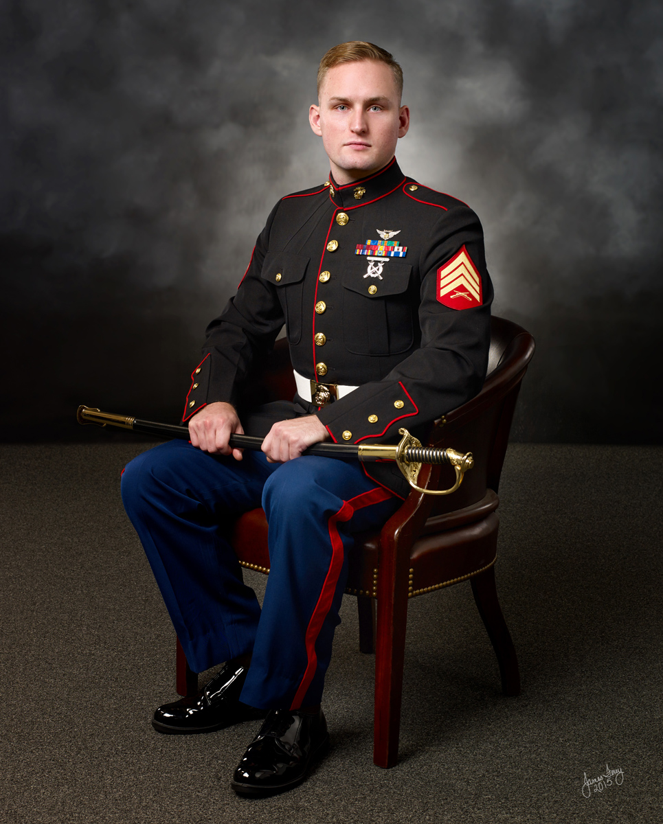 Military Portrait, Maryland